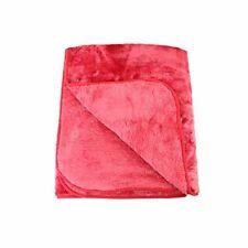 Gözze Couverture toucher cachemire, Microfibres, Rot, 220 cm x 240 cm 02ca7b53910