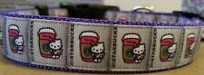 Hello Kitty Starbucks Dog Collar