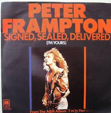 """7"""" 70s! PETER FRAMPTON Signed Sealed Delivered / VG+"""