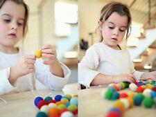 Choose or Mix Pure Wool felt Balls 2 cm / 20 mm  Christmas decor Diy Supplies