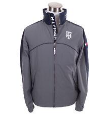 Tommy Hilfiger Men's Yatch Rain Wind Full Zip Logo Hooded Jacket - $0 Free Ship