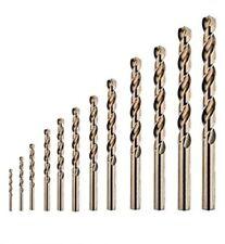 Edelstahlbohrer -  HSSE - Co5 DIN 338 - Metallbohrer - Kobaltbohrer 1 - 13 mm
