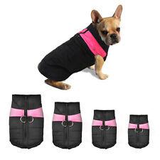 Waterproof Pet Dog Clothes Winter Warm Padded Coat Vest Pet Jacket S M L XL