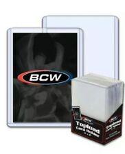 BCW Hard Plastic Baseball Trading Card Topload Holders protector 59 79 108 138pt