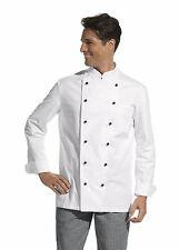 Kochjacke weiß langarm Gr.42-64 Damen 36-58 Bäckerjacke Kochbekleidung Bäcker