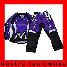 MOTOCROSS MX BMX PeeWee Toddler- PeeWee Pants & Jersey - Purple