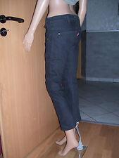 Levi's Levis engineered Jeans 7/8 Hose schwarz W26 W27  L26  Neu