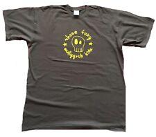 Rare Unworn Official TFMK THOSE FOXY Mullygrub Kids Comic Skull Braun T-Shirt L