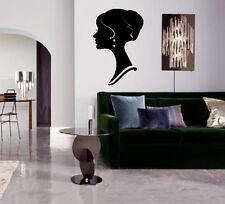 Profile Beautiful Woman Face Decor Wall Art Mural Vinyl Decal Sticker M463