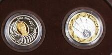2001 Canada/Britain Guglielmo Marconi Two Coin Set- Telegraph 100th Anniversary