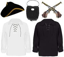 Garçons Filles Enfant Fantaisie Robe Costume Cutlass pirate épée Eye Patch Earring Set