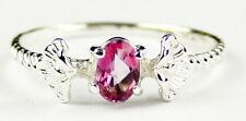 Pure Pink Topaz, 925 Sterling Silver Ring, SR192-Handmade