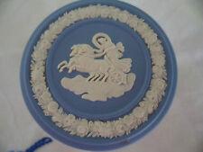 VINTAGE 1980 BLUE WHITE JASPER WARE WEDGWOOD TRINKET JEWELLERY BOX WEDGEWOOD