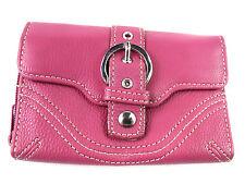 Mujer Moda Bolso Hebilla Detalle Cartera monedero porta tarjeta de crédito