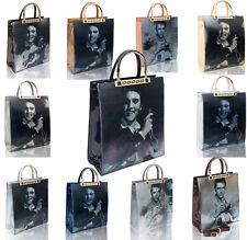 Women's Elvis 3D Print Patent Large Tote Shopper Shoulder Handbag Top-handle Bag