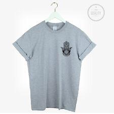 Mano Fatima Pocket T Shirt Top Yoga Boho Festival Kitsch LOVE Urban Hipster