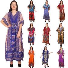 Long Kaftan Dress Assorted Plus Size Hippo Boho Maxi Nightdress Kaftans