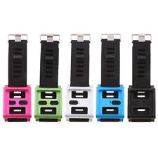 Aluminum Multi-Touch Watch Band Wrist Strap For IPod Nano 6 6th Generation