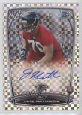 2014 Bowman Chrome #RCRA-JMA Jake Matthews Atlanta Falcons Auto Football Card