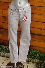 jeans grigio sottile MARITHÉ FRANCOIS GIRBAUD playktrix T W26 (36) ETICHETTA
