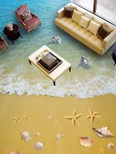 3D Beach Landscape 466 Floor WallPaper Murals Wallpaper Mural Print AJ AU Lemon
