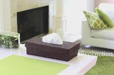 Pandan Woven Tissue Napkin Box Cover Holder Rectangle Hand Made Home Decor
