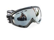 ravs Gafas de esquí - snowboard -plata Flash Lentes -ski Goggle blanco y negro