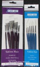 East Art 'ARTIST BRUSHES - TAKLON HAIR' (Choose from 2) Acrylic/Gouache/Water