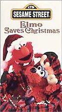Elmo Saves Christmas [VHS] by Charles Durning, Harvey Fierstein, Maya Angelou,