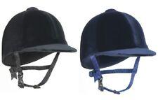 "Champion CPX3000 JUNIOR RIDING HAT Velvet  PAS015 Kids Black Navy 6 1/4""-7 3/4"""