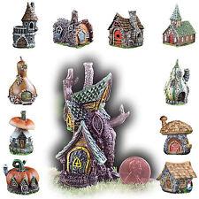 Fiddlehead Fairy Garden Homes Micro Miniature Houses Mushroom Castle Tree Log