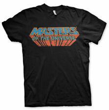 Masters of the Universe Vintage Logo He-Man MotU Männer Men T-Shirt Schwarz