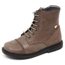 E1538 anfibio bimba taupe TWIN-SET SIMONA BARBIERI vintage boot kid girl