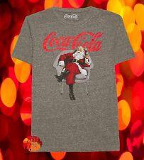 New Coca-Cola Santa Men's Christmas Vintage Classic T-Shirt