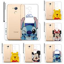 """Funda protectora de móvil para Huawei Honor 6a 5.0"""" Transparentes Silicona"""