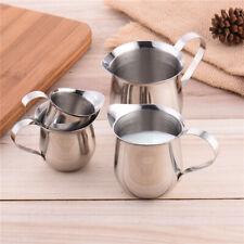 Stainless Steel Coffee Frothing Tea Milk Latte Jug Kitchen Craft Heat-resistant