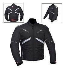 NEGROS PARA HOMBRE IMPERMEABLE ORIGINAL MOTO chaqueta de Cordura Ce