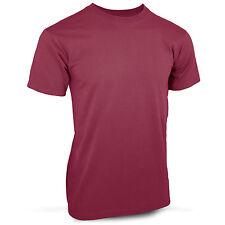 Plain Para Maroon T-Shirt Parachute Regiment Purple Cotton Top Quality  S - XXL