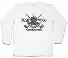 Bushwood Country Club i Manica lunga T-shirt Caddyshack sign logo Golf Company
