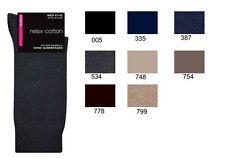 Hudson relax Cotton calcetines sin goma hilos pretina suave 97% algodón
