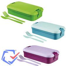 Curver Lunch&Go boîte avec des couverts repas usage nomade lunch couverts enfant