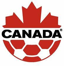 Canada Soccer Sticker / Decal R667