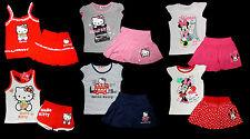 Hello Kitty Disney Minnie Set Sanrio Rock Top Shirt Short Hose 86 - 140