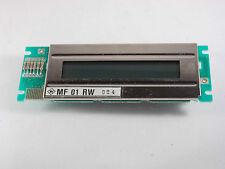 LCD , 87 x 16,5 mm auf Platine 140 x 49 mm, MF 01 RW 940  mit 3 x U714PC