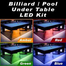 Crystal Vision Premium Pre-Installed Color LED Kit For Billiard Table (12.5ft)