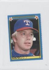1983 Fleer Baseball Album Stickers Separated #164 Buddy Bell Texas Rangers Card