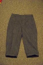womens vTg woolrich gray high waist wool blend pedal pusher pants new o.s. sz 33