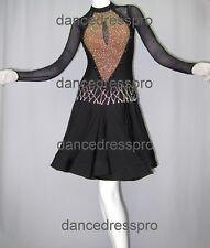 #2865 Ready-made Ballroom Latin Dance Dress (M size)