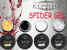 Komilfo Spider Gel Nail Paint for Nail Art Silver Gold Black White 5ml