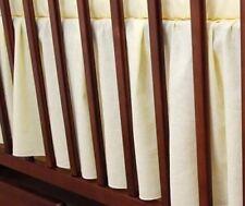 Lit bébé volantée jupe extérieure feuille avec tout rond fits lit / lit bébé-plaine